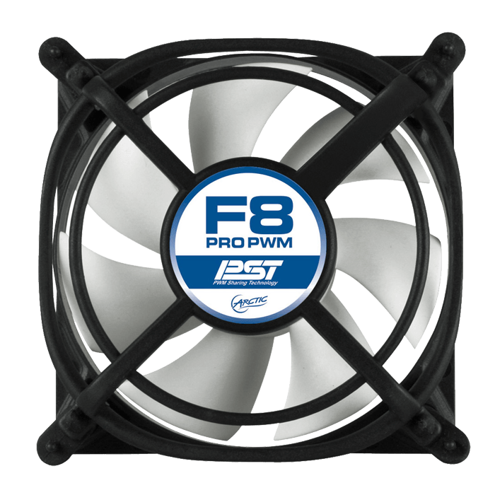ARCTIC F8 Pro PWM 80mm, 2000 RPM, 22 dBA Cooling Fan