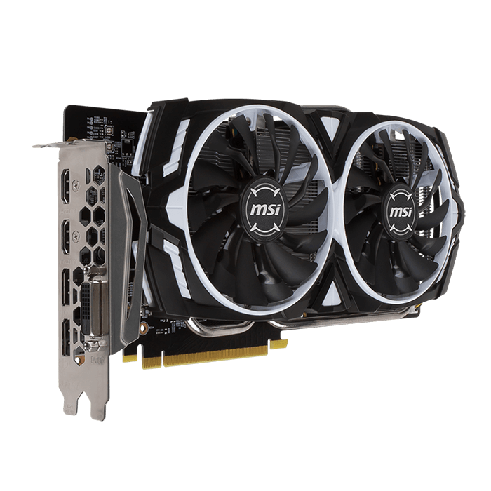 GeForce GTX 1060 ARMOR 3G OCV1, 1544 - 1759MHz, 3GB GDDR5 192-Bit, PCI Express 3.0 Graphics Card