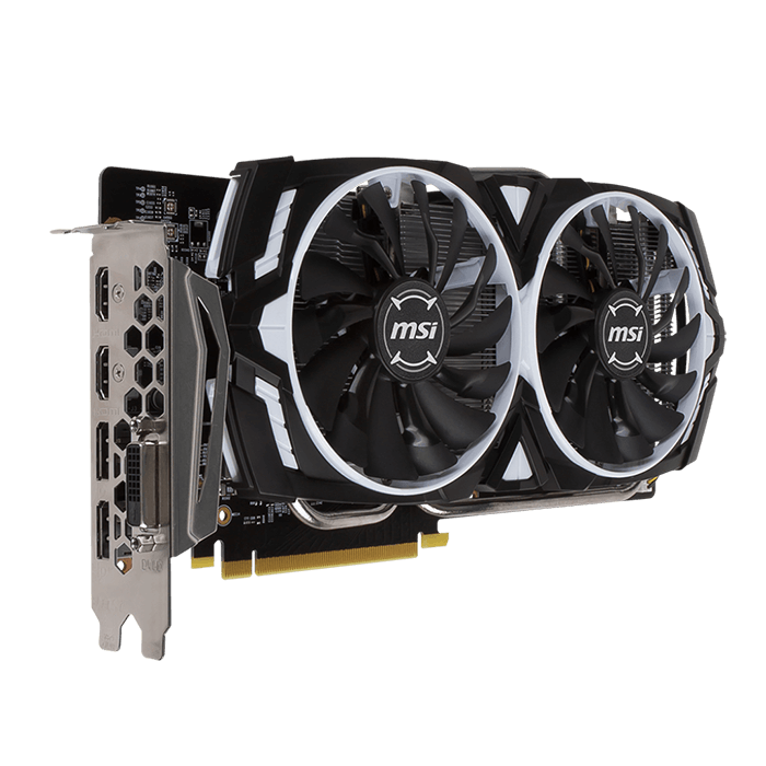 GeForce GTX 1060 ARMOR 6G OCV1, 1544 - 1759MHz, 6GB GDDR5 192-Bit, PCI Express 3.0 Graphics Card