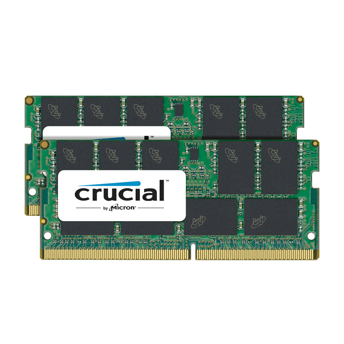32GB (2 x 16GB) Dual-Rank PC4-19200 DDR4 2400MHz CL17 1.2V SDRAM SO-DIMM, ECC Unbuffered Memory