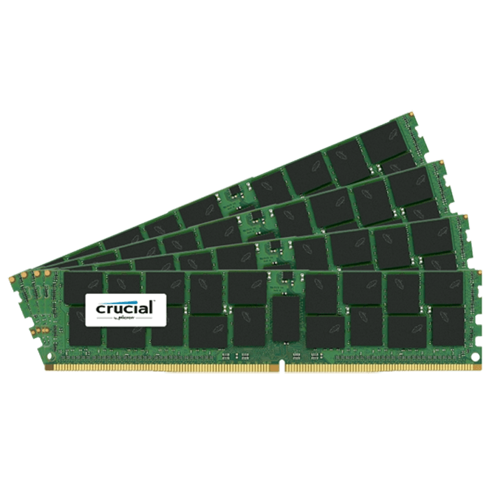 128GB (4 x 32GB) Dual-Rank PC4-19200 DDR4 2400MHz CL17 1.2V SDRAM DIMM, ECC Load Reduced Memory