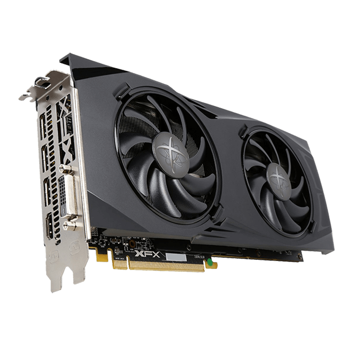 XFX Video Card RX-480P8DBA6 RX 480 GTR 8GB GDDR5 PCIE 256Bit HDMI/3xDisplayPort/DL-DVID Retail