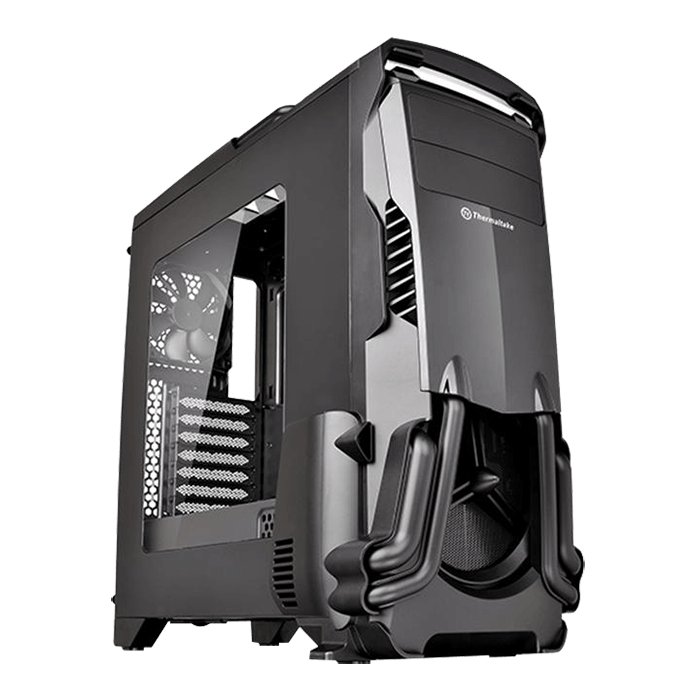 Versa Series N24, w/ Window, No PSU, ATX, Black, Mid Tower Case