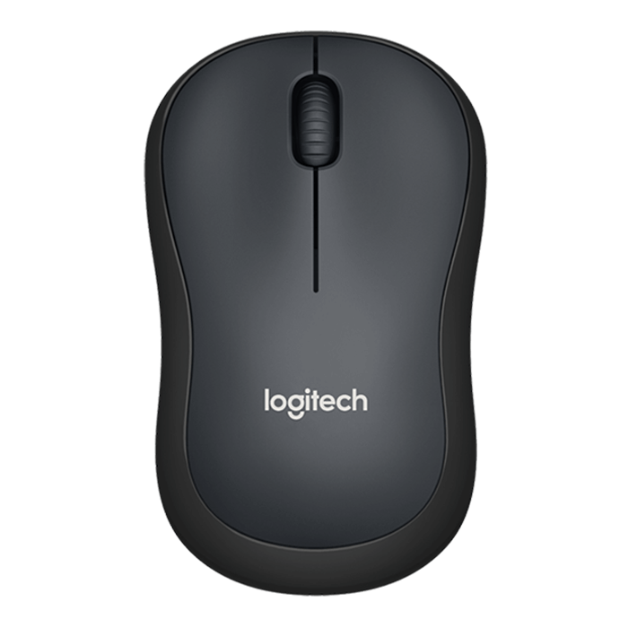 M220 Silent, 3 Buttons, 1000dpi, Wireless USB, Black, Retail Optical Mouse