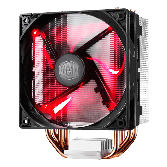 Hyper 212 LED, 160mm Height, Copper/Aluminum CPU Cooler