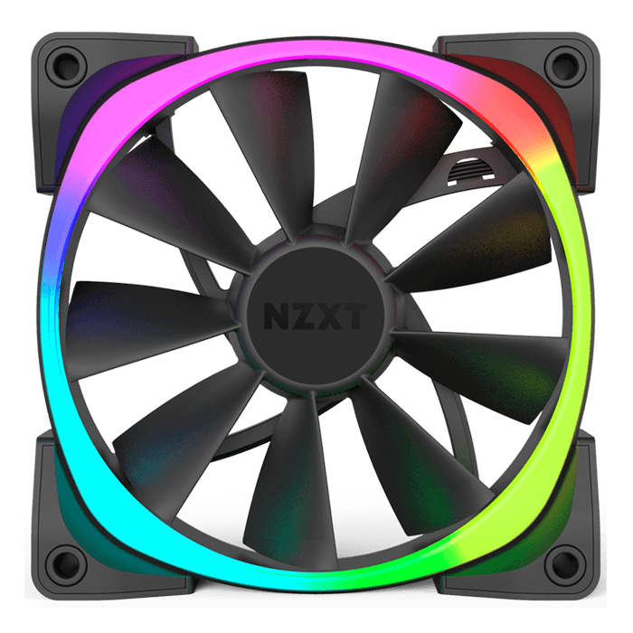 Aer RGB Series 140mm w/ RGB LEDs, 1500 RPM, 71.6 CFM, 33 dBA Cooling Fan