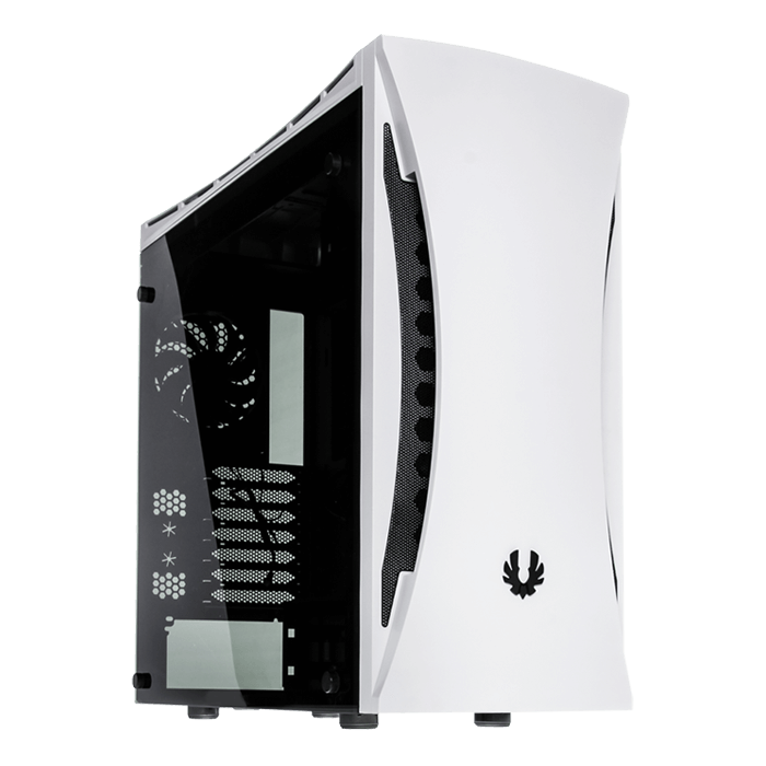 Aurora w/ Window, No PSU, E-ATX, White, Mid Tower Case