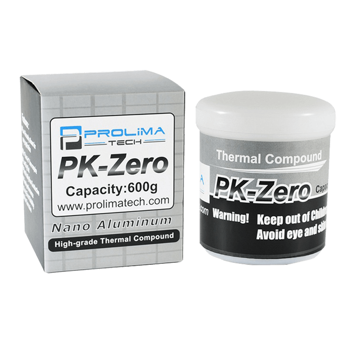 PK-Zero, 600g, 8 (W/m-K), Nano Aluminum High-Grade, Thermal Compound