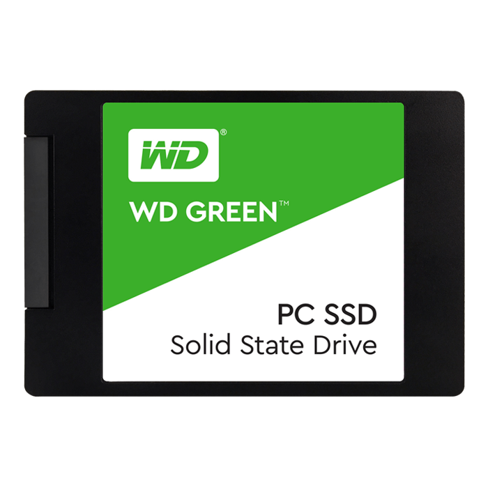 120GB WD Green WDS120G1G0A 7mm, 540 / 430 MB/s, SLC, SATA 6Gb/s, 2.5-Inch Retail SSD