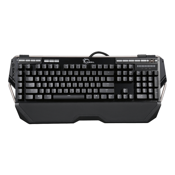 KM780R Series RIPJAWS KM780R RGB LED Illumination, Cherry MX RGB Brown Switch, 6 Macro Keys, Wired USB, Black, Retail Mechanical Gaming Keyboard