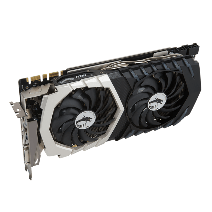 GeForce GTX 1070 QUICK SILVER 8G OC, 1506 - 1797MHz, 8GB GDDR5 256-Bit, PCI Express 3.0 Graphics Card