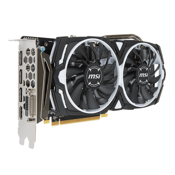 Radeon RX 470 ARMOR 8G OC, 1230MHz, 8GB GDDR5 256-Bit, PCI Express 3.0 Graphics Card
