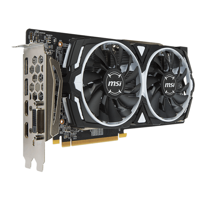 Radeon RX 480 ARMOR 4G OC, 1291MHz, 4GB GDDR5 256-Bit, PCI Express 3.0 Graphics Card