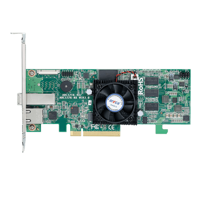ARC-1216-4x, SAS 12Gb/s, 4-Port, PCIe 3.0 x8, Controller with 1GB Cache