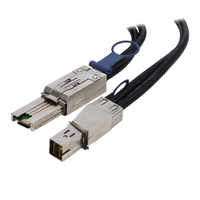 CB-4488-1M External HD MiniSAS (SFF-8644) to External MiniSAS (SFF-8088) Cable - 1 Meter Length