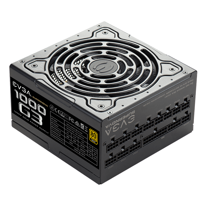 SuperNOVA G3 Series 1000W, 80 PLUS Gold ECO Mode, Full Modular, ATX Power Supply