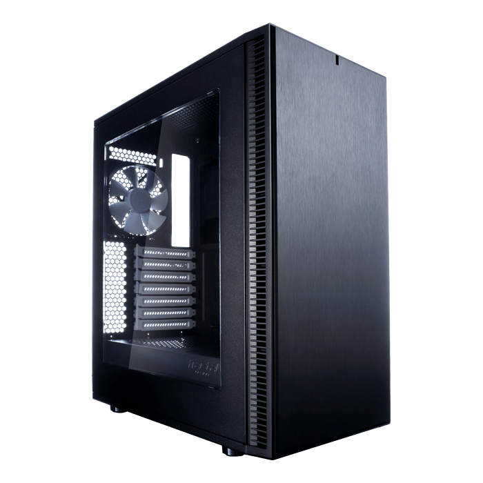 Define Series C w/ Window, No PSU, ATX, Black, Mid Tower Case