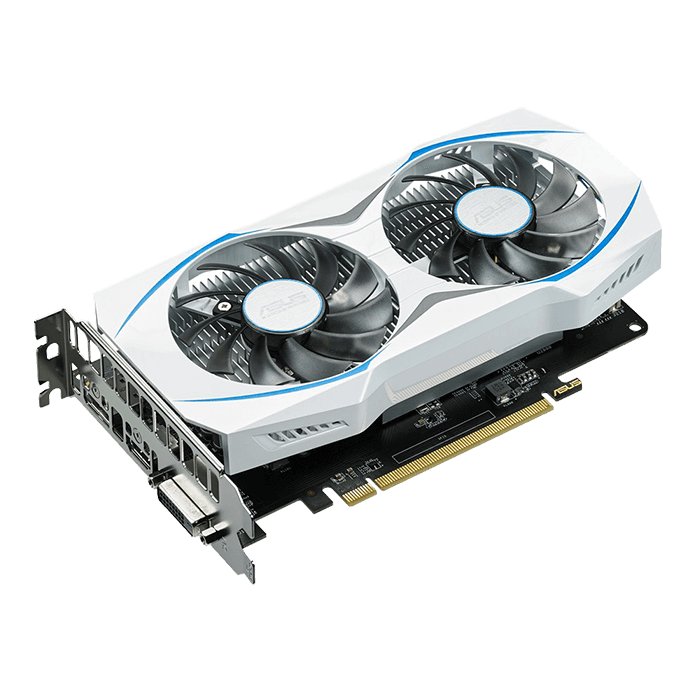 Radeon RX 460 DUAL-RX460-2G, 1200 - 1220MHz, 2GB GDDR5 128-Bit, PCI Express 3.0 Graphics Card