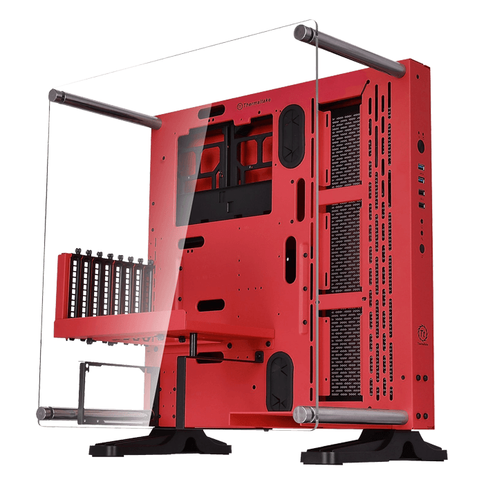 Core Series P3 SE Red Edition, w/ Window, No PSU, ATX, Red, Mid Tower Case