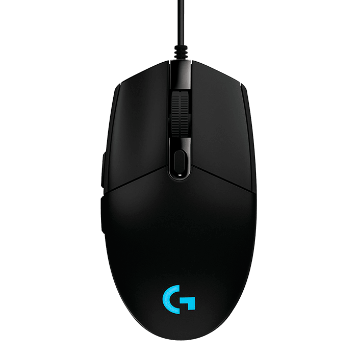 G203 Prodigy, RGB Lighting, 6 Buttons, 6000dpi, Wired USB, Black, Retail Optical Gaming Mouse