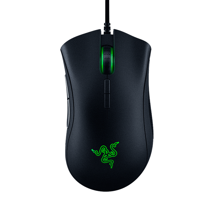 DeathAdder Elite, Chroma lighting 16.8 million color, 7 Buttons, 16000dpi, Wired USB, Black, Retail Optical Gaming Mouse