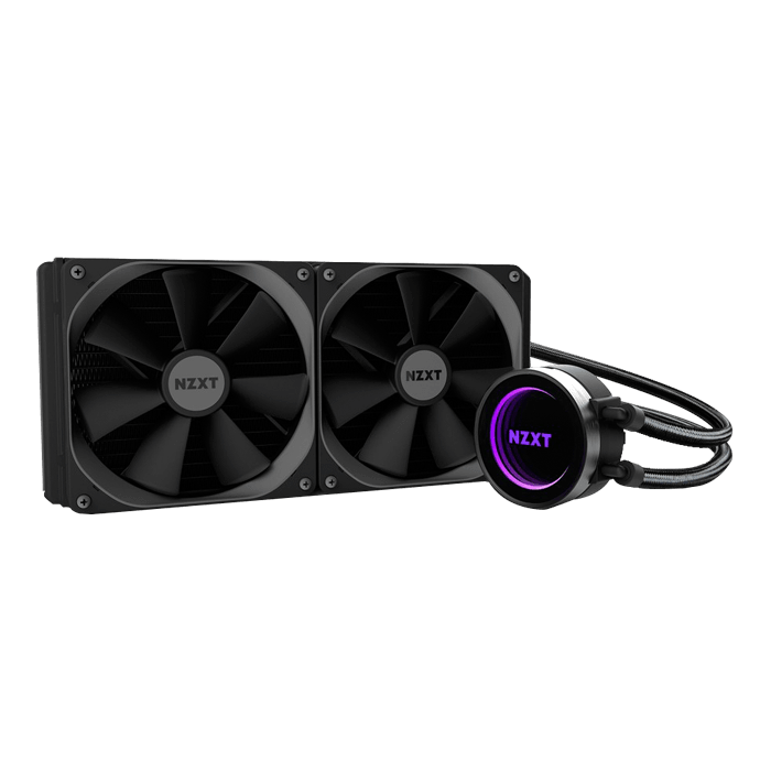 Kraken X62 280mm, Socket 2011-3/1151/AM3+/FM2+ Retail Liquid Cooling System