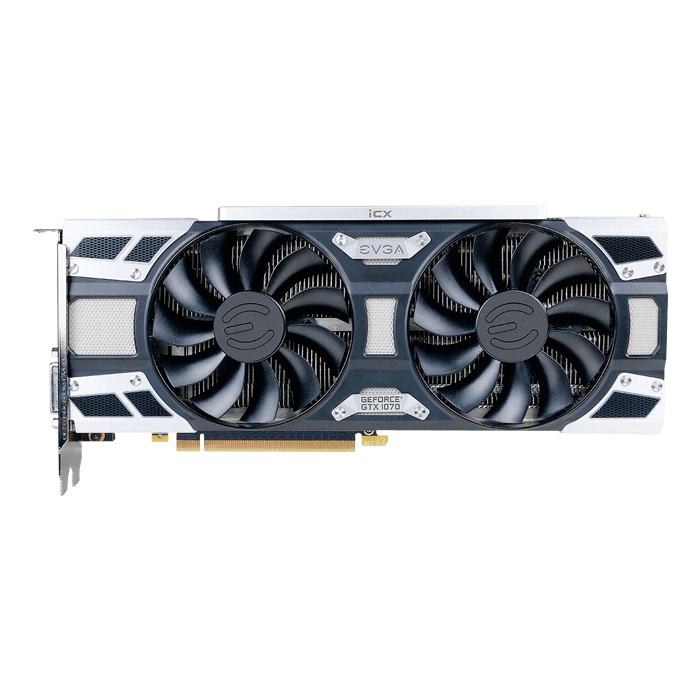 GeForce GTX 1070 SC2 GAMING iCX, 1594 - 1784MHz, 8GB GDDR5 256-Bit, PCI Express 3.0 Graphics Card