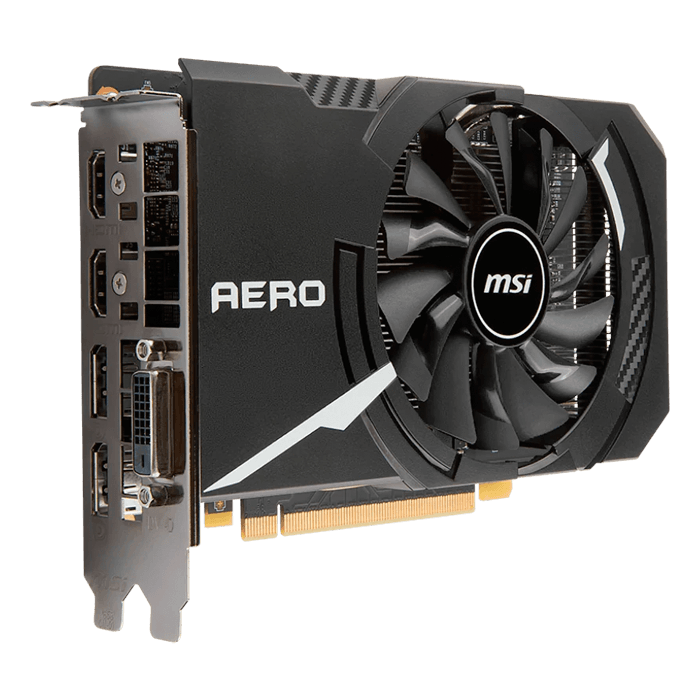 GeForce GTX 1060 AERO ITX 3G OC, 1544 - 1759MHz, 3GB GDDR5 192-Bit, PCI Express 3.0 Graphics Card