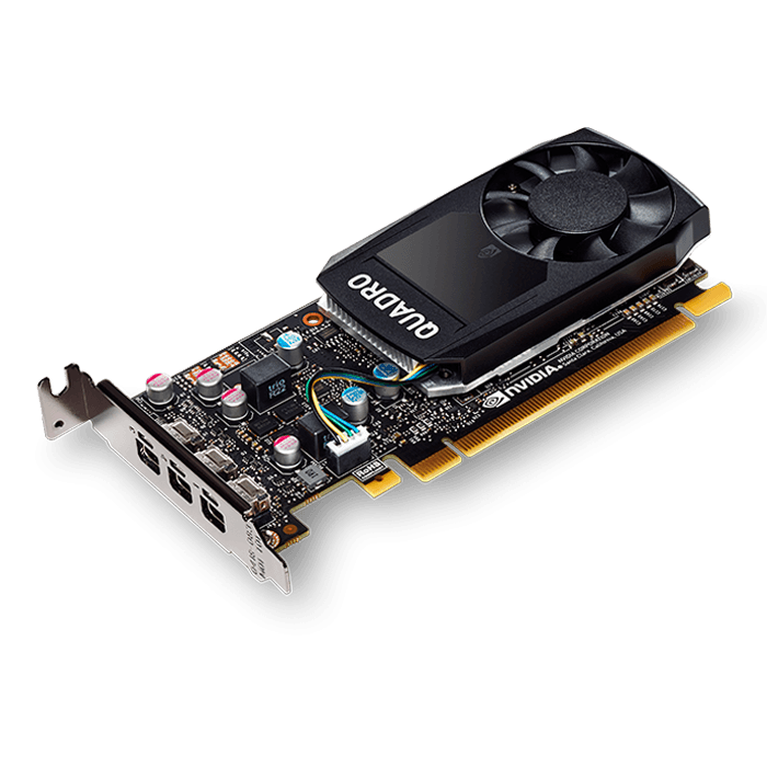 Quadro P400 VCQP400-PB, 2GB GDDR5 64-Bit, PCI Express 3.0 Graphics Card