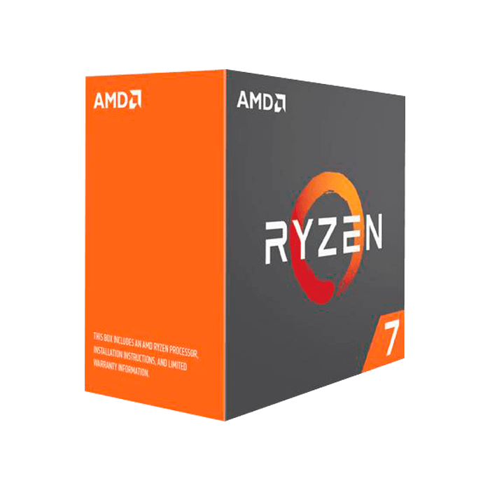 RYZEN 7 1800X Eight-Core 3.6 - 4.0GHz Turbo, AM4, 16MB L3 Cache, DDR4, 14nm, 95W, w/o Cooler Retail Processor