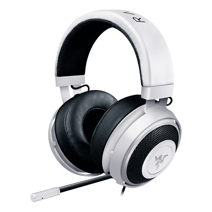 Kraken Pro V2 w/ Microphone, Stereo, 3.5mm, White, Retail Gaming Headset