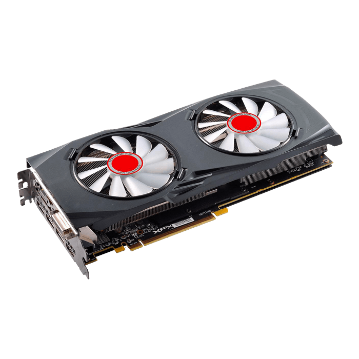 Radeon RX 580 GTR-S Black Edition RX-580A8DBW6, 1364 - 1450MHz, 8GB GDDR5 256-Bit, PCI Express 3.0 Graphics Card