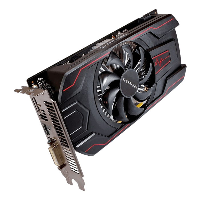PULSE Series Radeon RX 560 4GD5, 1090 - 1300MHz, 4GB GDDR5 128-Bit, PCI Express 3.0 Graphics Card