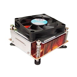 P61G Socket 775 Active 2U CPU Cooler, 6000 RPM, Aluminum