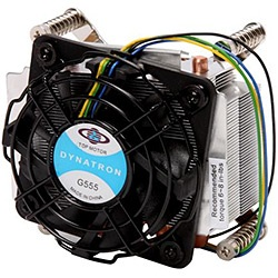 G555 Socket 1366 Active 2U CPU Cooler, 5500 RPM, Copper/Aluminum