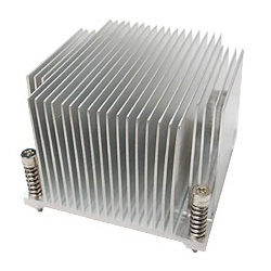 G520 Socket 1366 Passive Heatsink for 2U Server Chassis, Aluminum