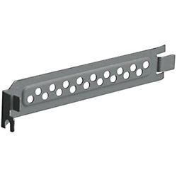 SLBRACKET1 PC Case Slot Bracket, Full-Height, Steel