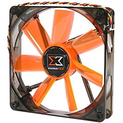 XLF F1453 140mm Case Fan, 1000 RPM, 63.5 CFM, 16 dBA, White LED