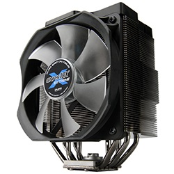 CNPS10X Extreme CPU Cooler, Socket 1155/1156/1366/775/AM3/AM2/940/939/754, 160mm Height, Copper/Aluminum, Blue LED, Retail