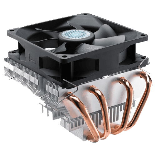 Vortex Plus CPU Cooler, Socket 1150/1155/1156/1366/775/AM3/AM2/940/939/754, 84mm Height, Copper/Aluminum