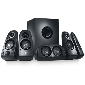 Z506 5.1 Surround Speaker System, 75W RMS (4x8W + 16W + 27W), Black, Retail
