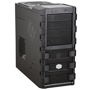 HAF 912 (RC-912-KKN1) Mid-Tower Case, ATX, No PSU, SECC/Plastic