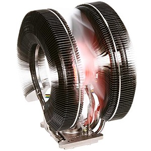 CNPS9900 MAX CPU Cooler, Socket 1155/1156/1366/775/AM3/AM2, 152mm Height, Copper/Nickel Plated, Red LED, Retail