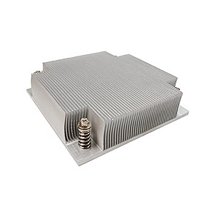 K1 Socket 1156 Passive Heatsink for 1U Server Chassis, Aluminum
