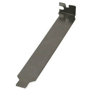 SLBRACKET9 PC Case Slot Bracket, Full-Height, Steel