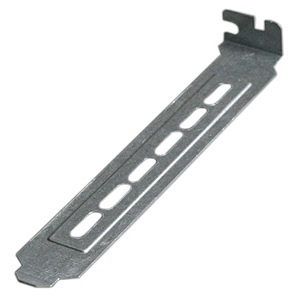 SLBRACKET43 PC Case Slot Bracket, Full-Height, Steel