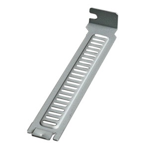 SLBRACKET49 PC Case Slot Bracket, Full-Height, Steel