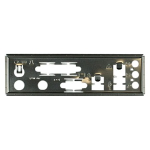 MBBCKPLT13 Motherboard I/O Shield Plate, Steel