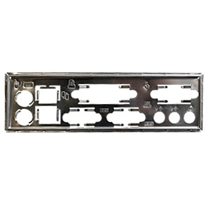 MBBCKPLT17 Motherboard I/O Shield Plate, Steel