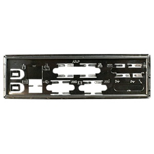 MBBCKPLT19 Motherboard I/O Shield Plate, Steel
